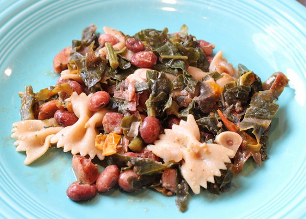 Pasta with Beans and Kale