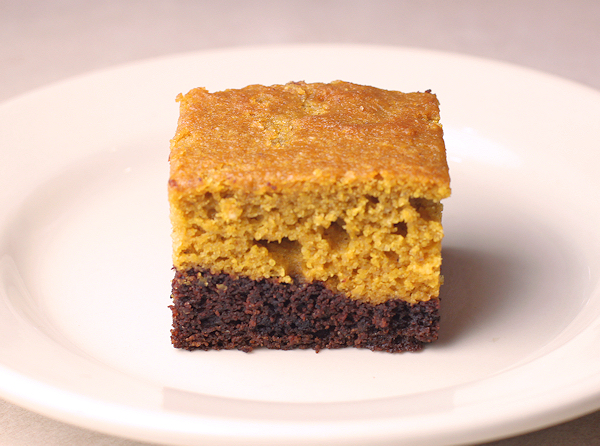 Black Bottom Pumpkin Cake