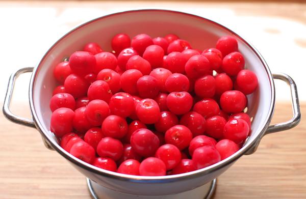 North Star tart cherries