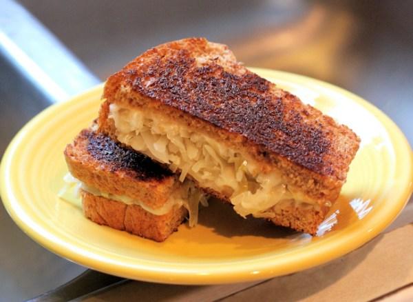 Meatless Reuben Sandwich