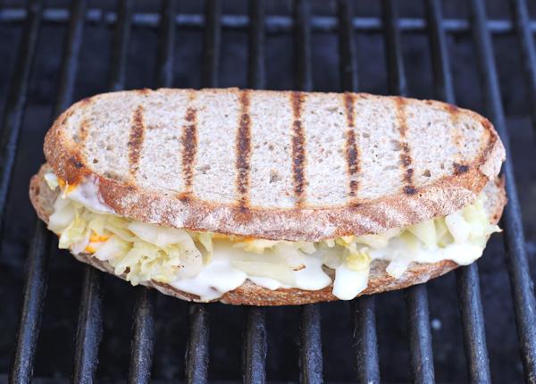 grilled Meatless Reuben