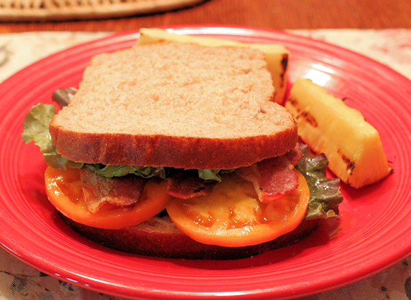BLT with Chef