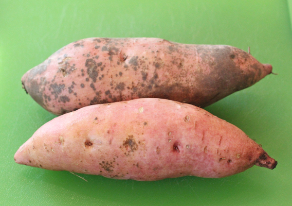 Bonita sweet potatoes