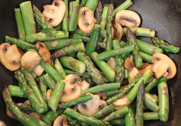 asparagus stir fry