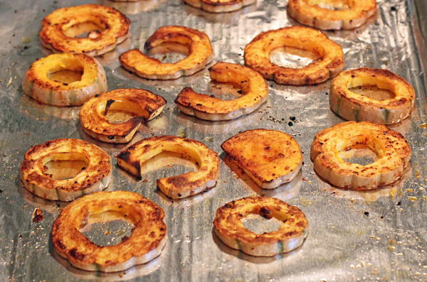 roasted Honeyboat Delicata