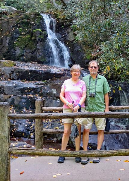 us at Laurel Falls