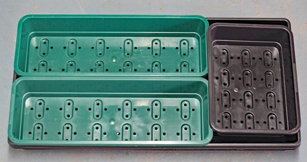 Garland seed trays for micro greens and shoots