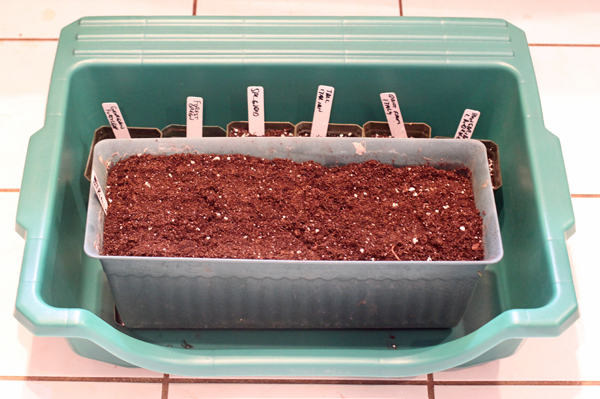 portable potting tray