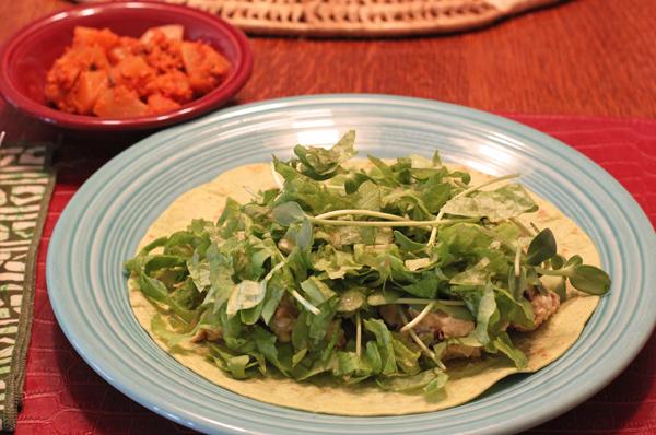 lettuce on wrap