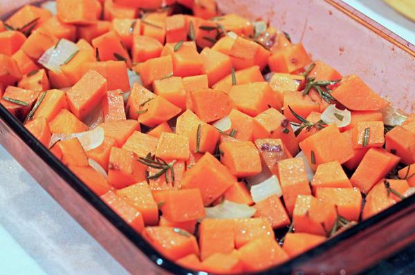 Rosemary Roasted Sweet Potatoes