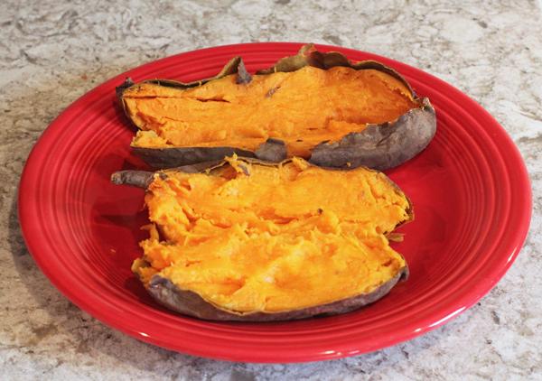 Indiana Gold sweet potatoes