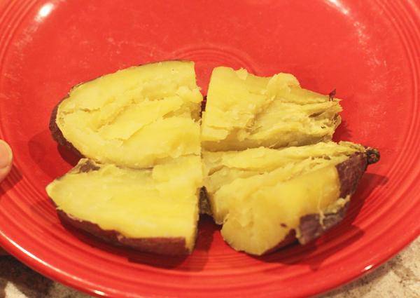 Red Japanese and Murasaki sweet potatoes