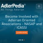 AdlerPediaホームページのカバー写真