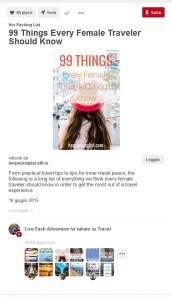 Pinterest 99 cose che ogni donna che viaggia dovrebbe conoscere