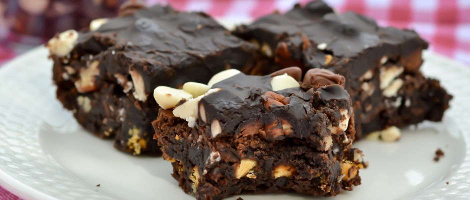 Fudgy Garbage Brownies