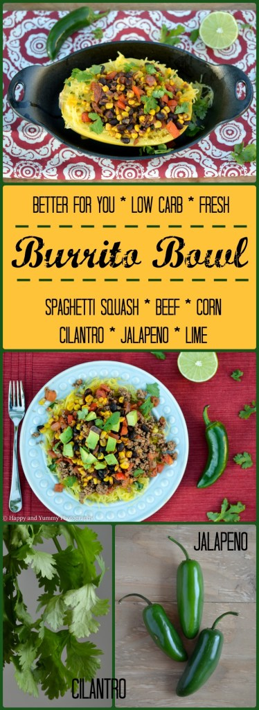 low carb burrito bowl long image