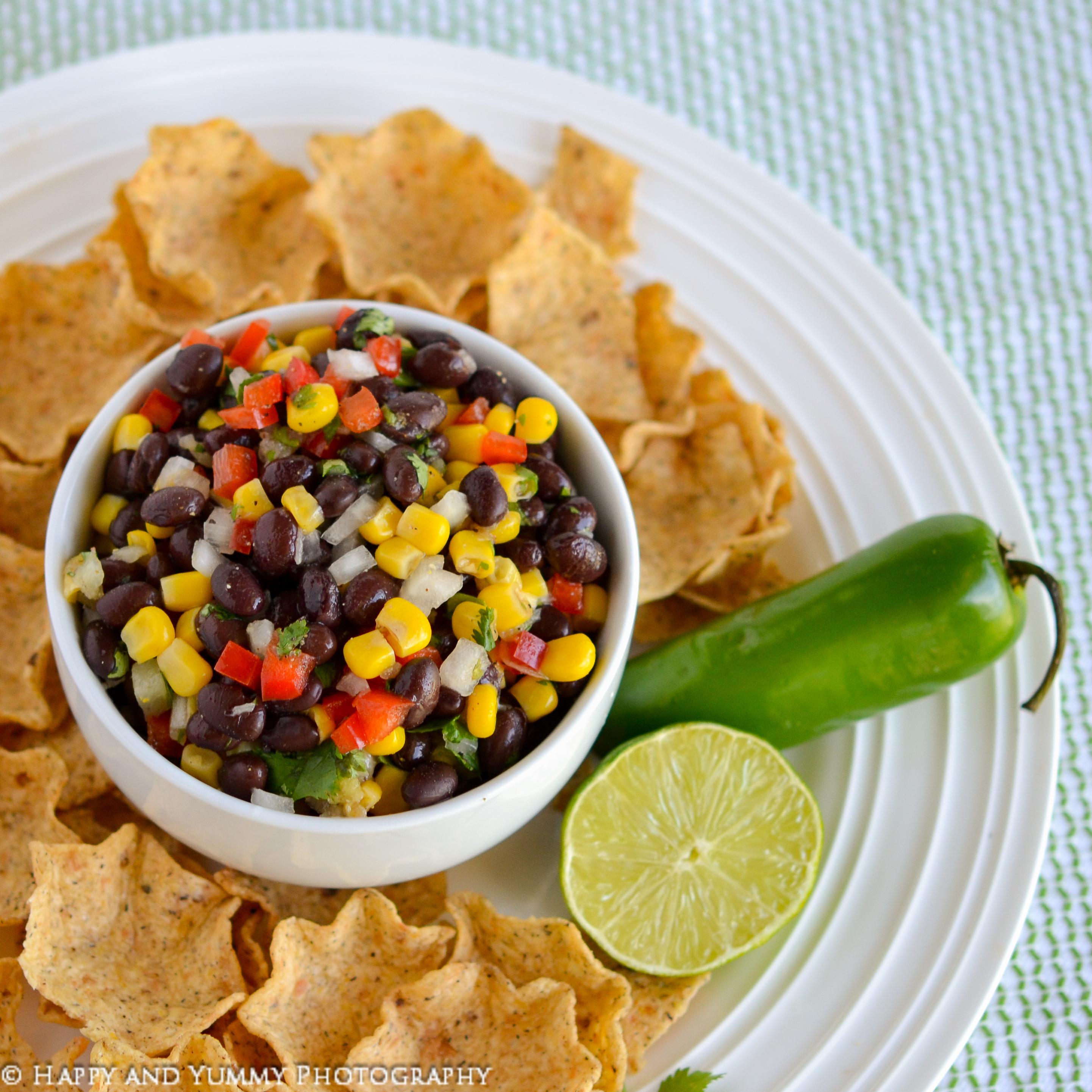 Fiesta Black Bean and Corn Dip