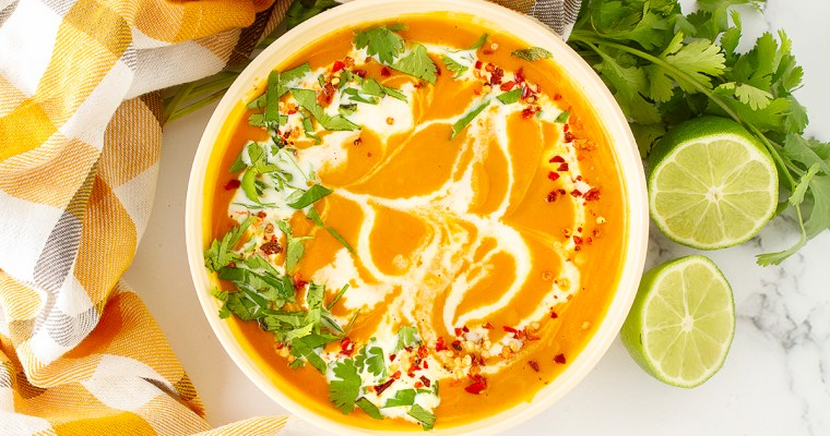 Butternut Squash Thai Soup