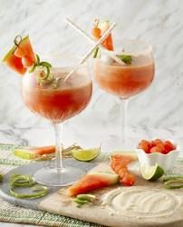 Strawberry-Watermelon Mock-a-ritas