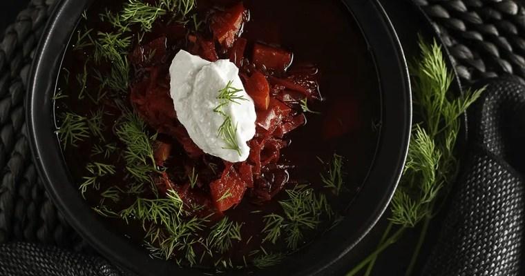 Borscht – Russian Beet Soup