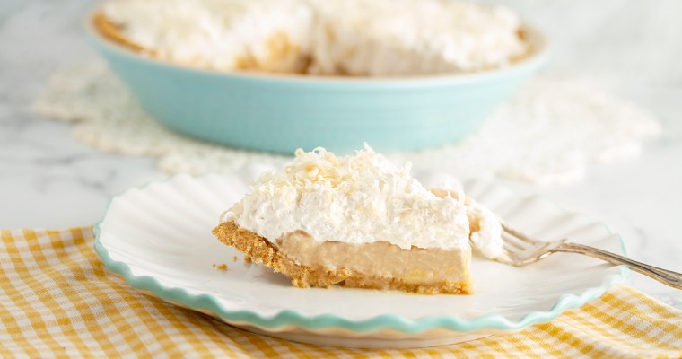 Vegan Banana-Coconut Cream Pie