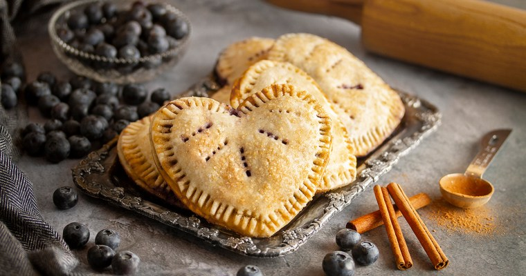 Blueberry Love Tarts
