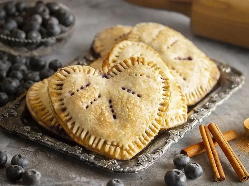 Gluten-free, Dairy-Free Vegan Blueberry Love Tarts