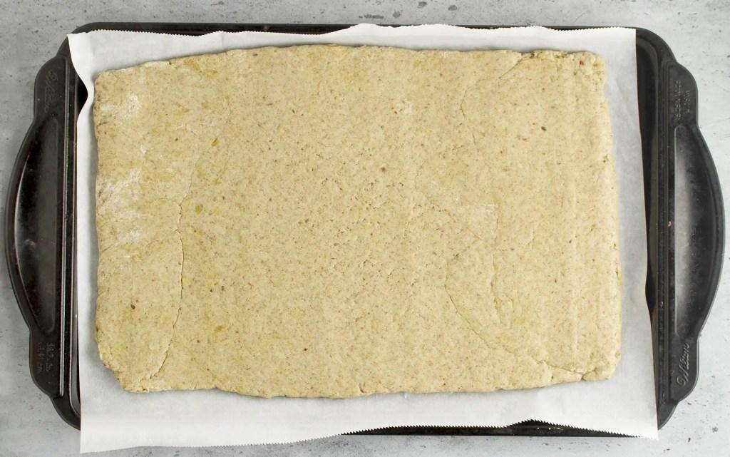 Step 3 -Laminating the dough