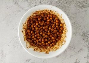 Gluten-free, Vegan Spicy Chickpeas