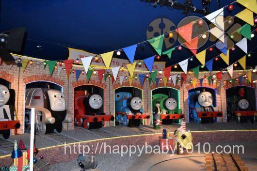 富士急ハイランド トーマスランド 無料 2歳児 トーマスのパーティーパレード