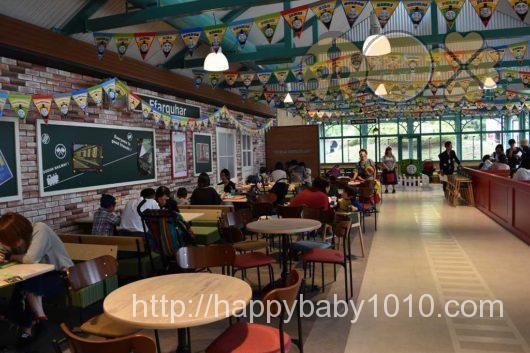 富士急ハイランド トーマスランド 無料 2歳児 レストラン お土産 内部