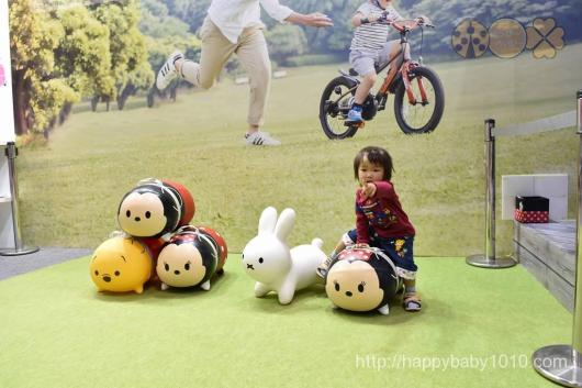 東京おもちゃショー 2017 戦利品 おみやげ 会場 2歳児 ツムツムボンボン アイデス