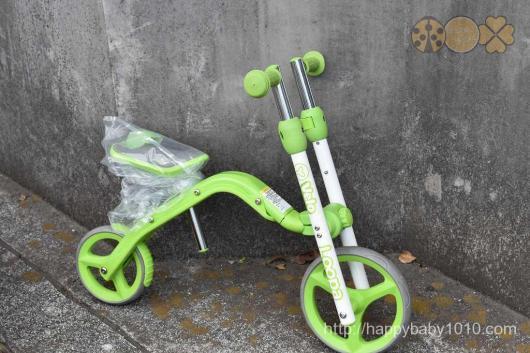 東京おもちゃショー 2017 戦利品 おみやげ 会場 2歳 掘り出し物 スクーター Y・Bolution Balance Bike