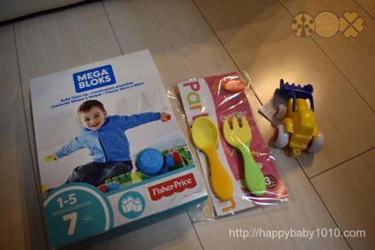 東京おもちゃショー 2017 戦利品 おみやげ 会場 2歳 マテル フィッシャープライス トイローヤル カーサリッチ