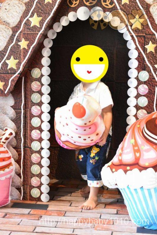 スタジオノハナ 子連れイベント 写真撮影 先着 会場内の様子2 お菓子の家ブース