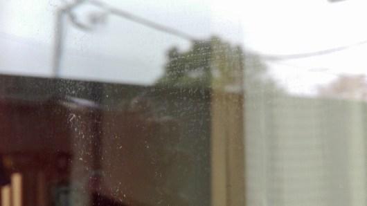 シャークスチームポータブル 窓掃除