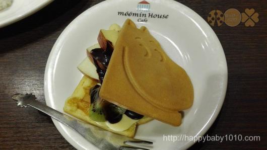 ムーミンハウスカフェ ファミリープレートデザート300円