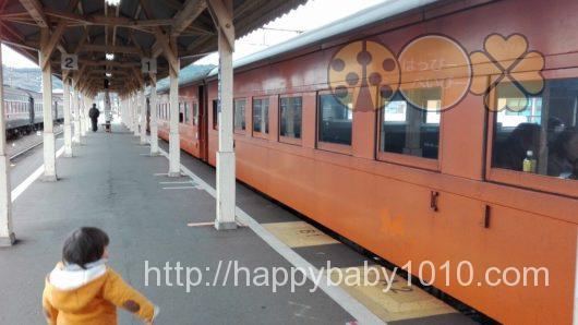 大井川鉄道 機関車 車内の様子
