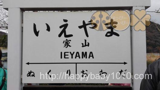 家山駅 機関車 大井川鉄道3
