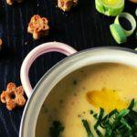 Kartoffel-Lauch Suppe