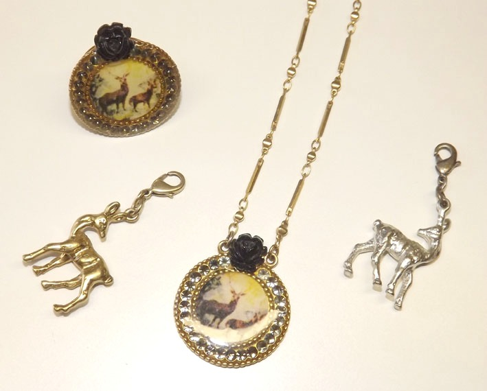 bijoux cerf biche