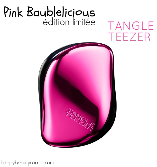 tangle teezer pink baublelicious