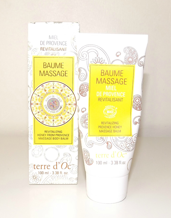 baume massage miel de provence