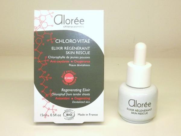 elixir skin rescue alorée