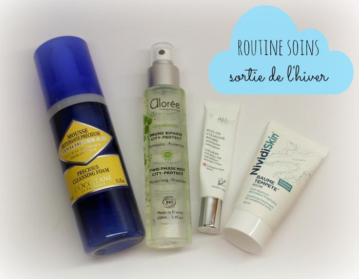 routine de soins visage