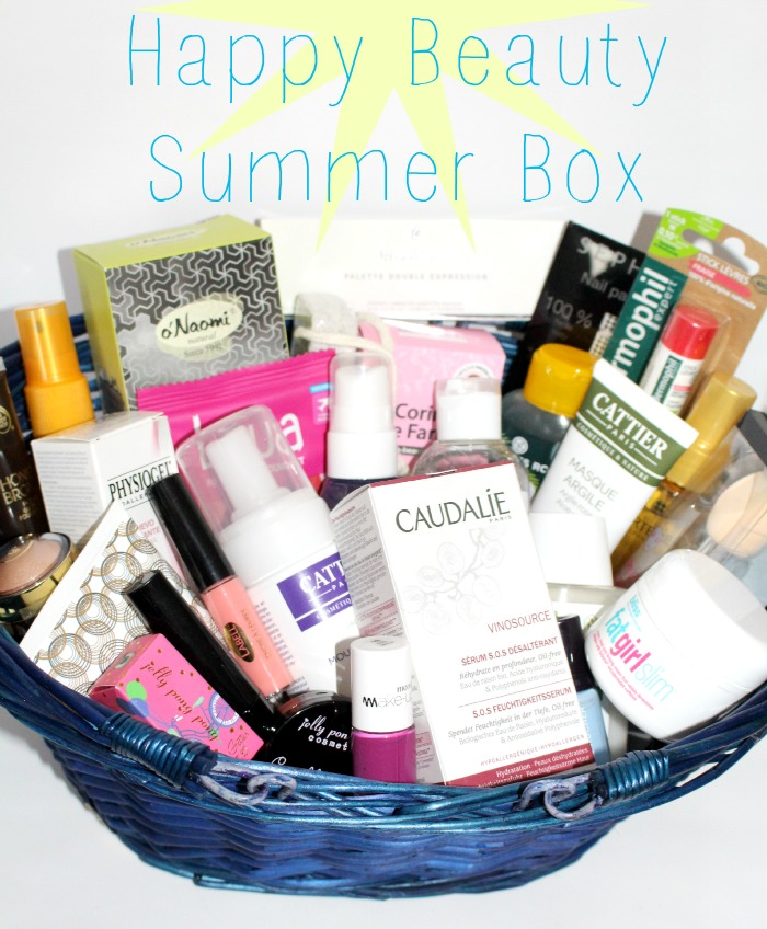 Concours (de folie) Happy Beauty Summer Box !!