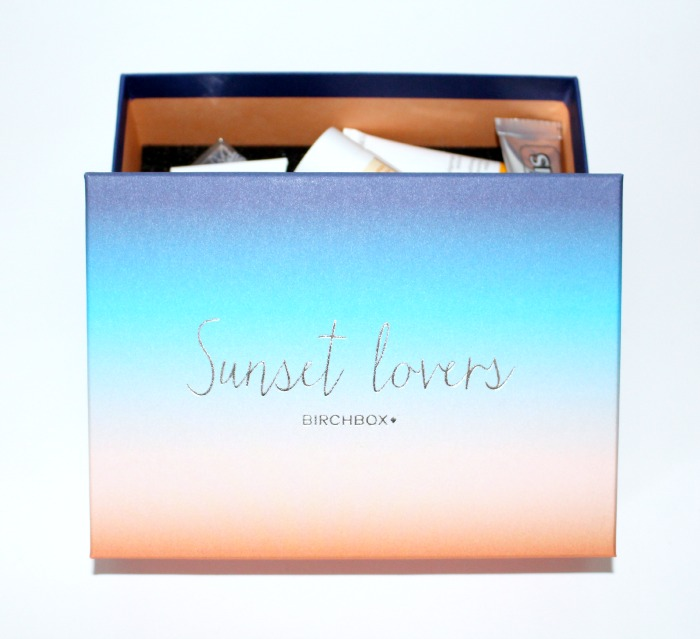 birchbox sunset lovers