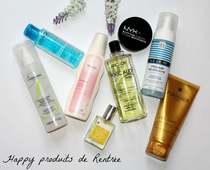 Happy Produits de la rentrée !