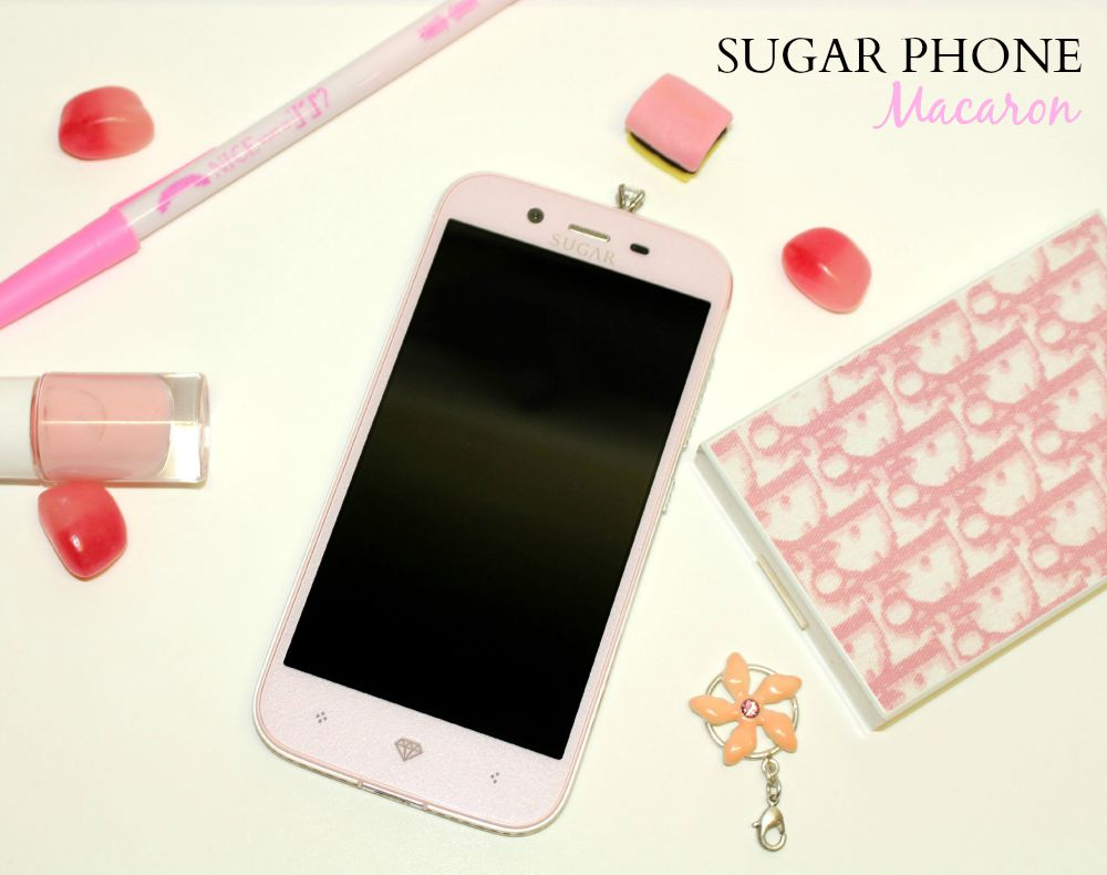 sugar phone creme de rose
