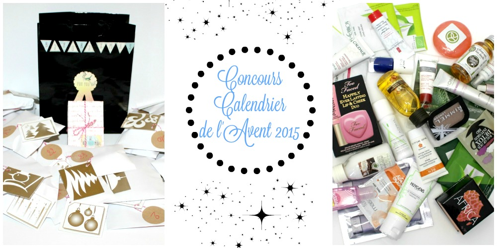 calendrier beaute avent 2015 concours